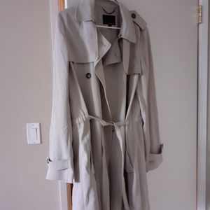 Banana Republic duster trench